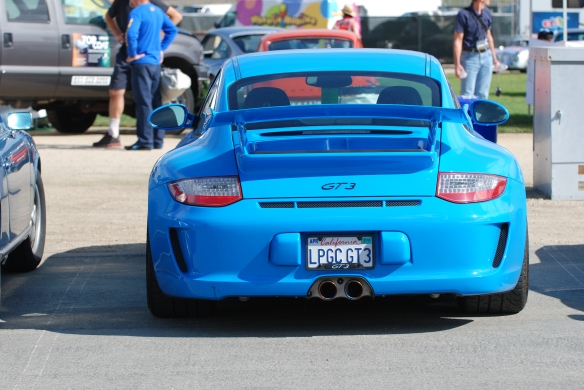 GT3_Porsche corral parking_Rennsport Reunion 4_10/16/11