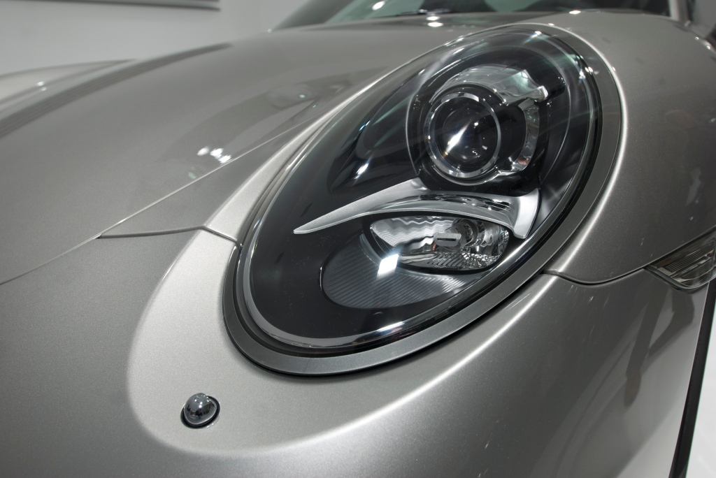 2012 Porsche 911 Carrera S (type 991)_headlight_L.A. Auto Show 2011