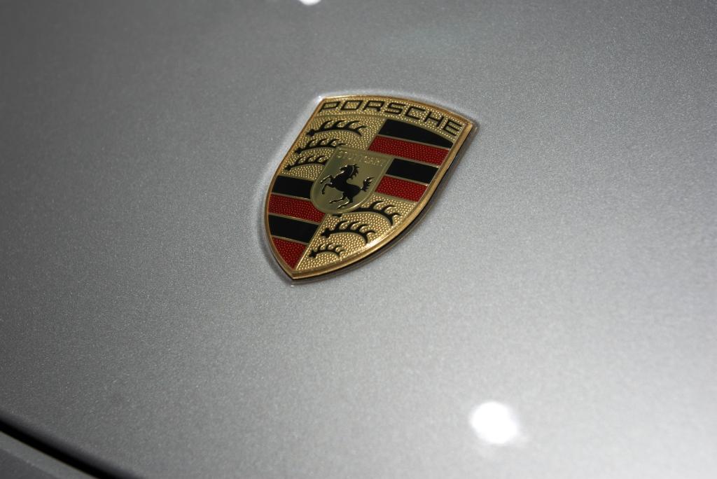 2012 Porsche 911 Carrera S (type 991)_hood emblem_L.A. Auto Show 2011