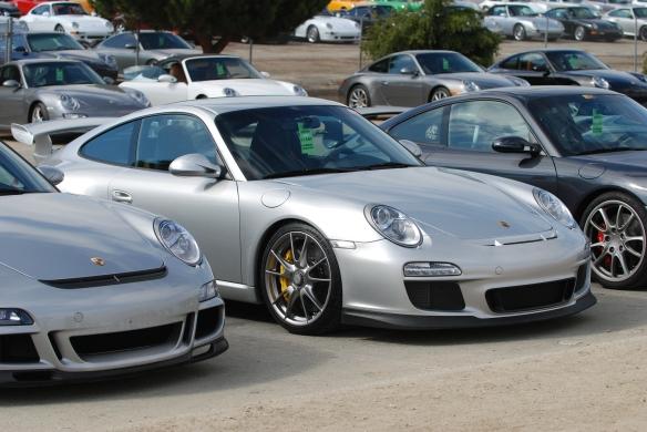 2009 & 2010 GT3's _Rennsport Reunion 4_10/16/11