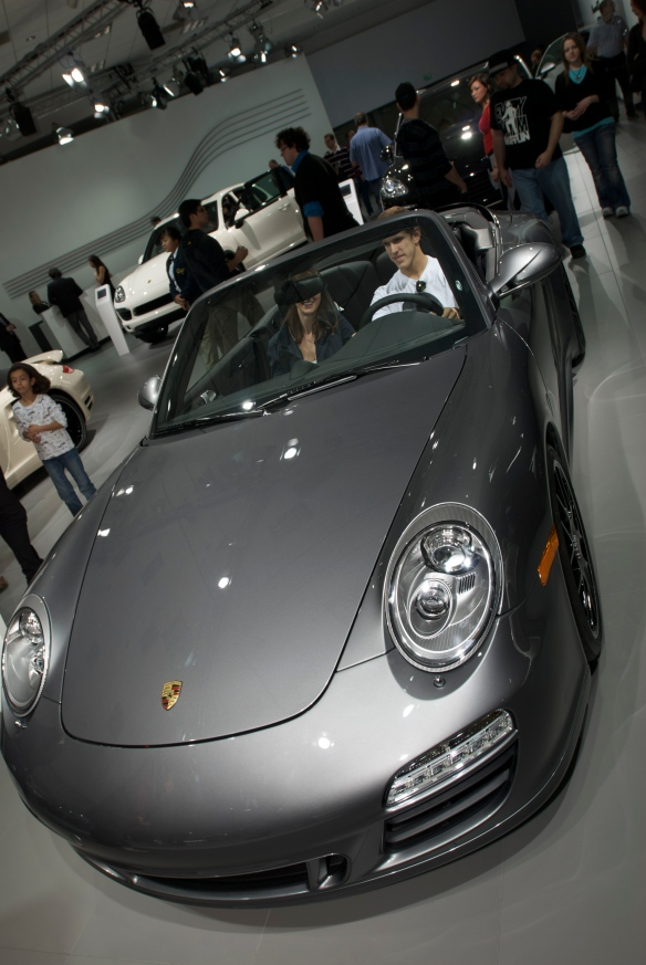 2011 Porsche 997 cabriolet_Petree Hall_L.A. Auto Show 2011