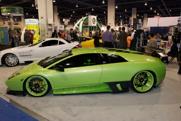 Lamborghini_Forgiato wheels display_The SEMA Show_11/3/11