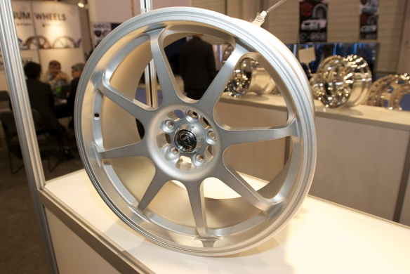 Finished forged wheel_The SEMA Show_11/3/11
