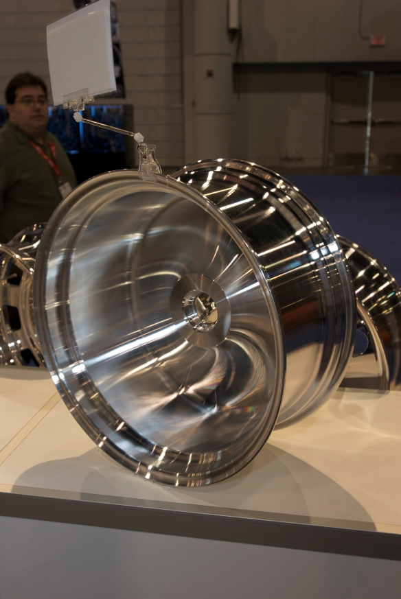 Forged wheel blank_20 X 8.5_The SEMA Show_11/3/11