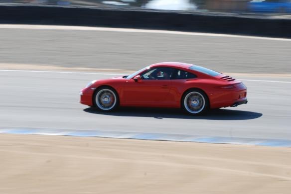 2012 Porsche 991_ hot lapping_Rennsport Reunion 4_10/16/11