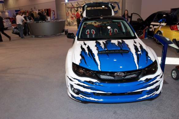 Subaru WRX STI hatch_The SEMA Show_11/3/11