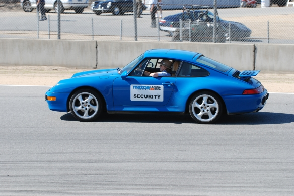 Porsche 993_Parade Laps_Rennsport Reunion 4_10/16/11