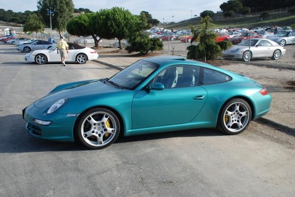 Porsche 997, paint to sample color_Rennsport Reunion 4_10/16/11