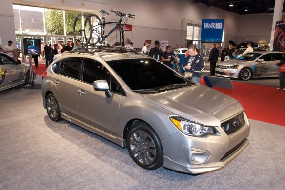 Subaru WRX STI _The SEMA Show_11/3/11
