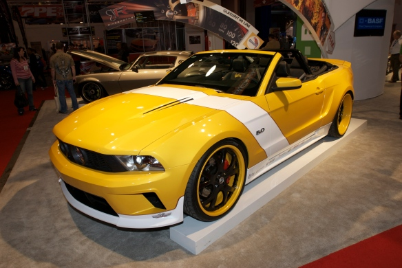 West Coast Customs mustang_BASF display_The SEMA Show_11/3/11