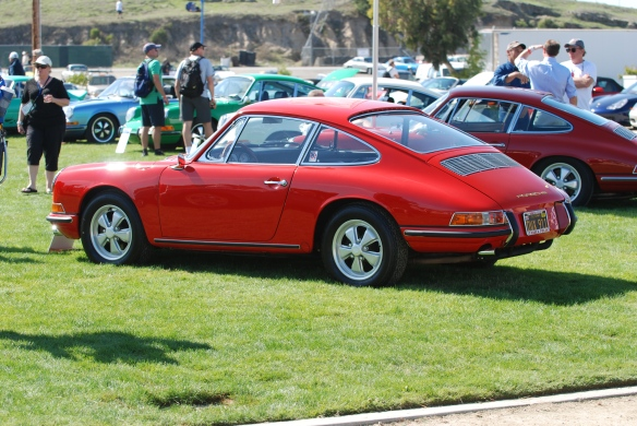 Polo Red 1966 911_Rennsport Reunion 4_10/16/11
