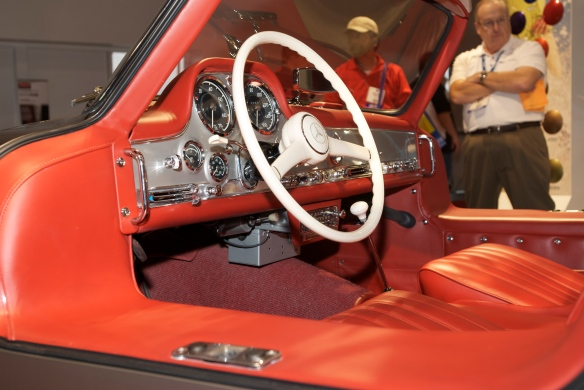 Chip Foose 1957 Mercedes Benz 300SL gullwing_BASF display_The SEMA Show_11/3/11