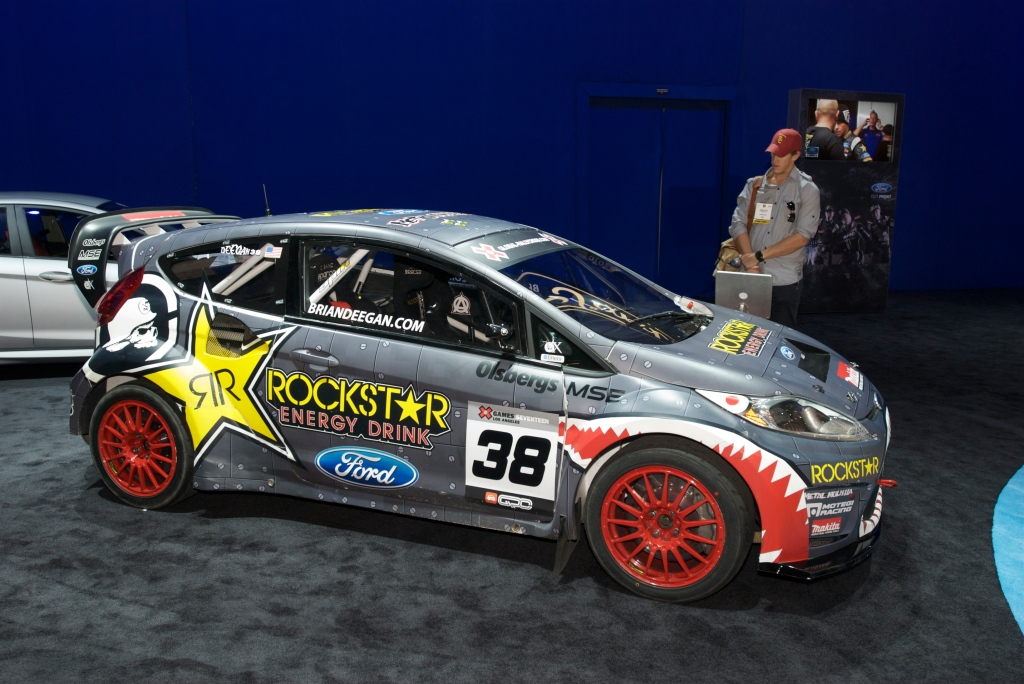 Brian Deegan Focus RallyCross car_Ford Display_The SEMA Show 2011_11/4/11