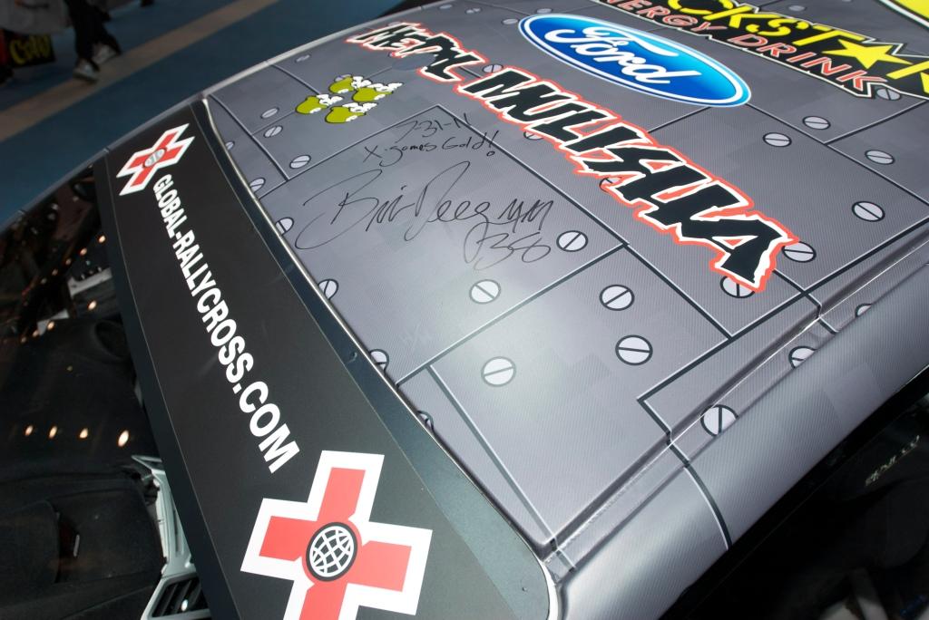 Brian Deegan Focus Rallycross car_Ford Display_The SEMA Show 2011_11/4/11