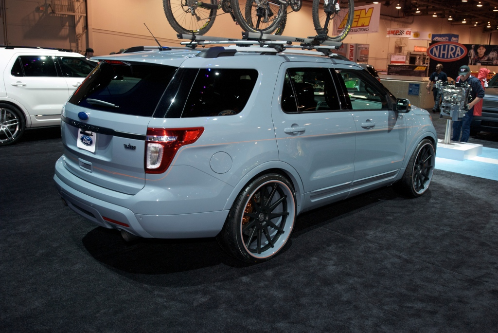 Custom Ford Explorer_Ford Display_The SEMA Show 2011_11/4/11