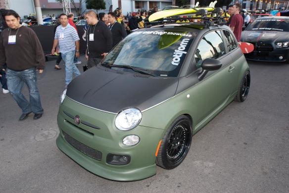 Fiat 500_The SEMA Show 2011_11/4/11