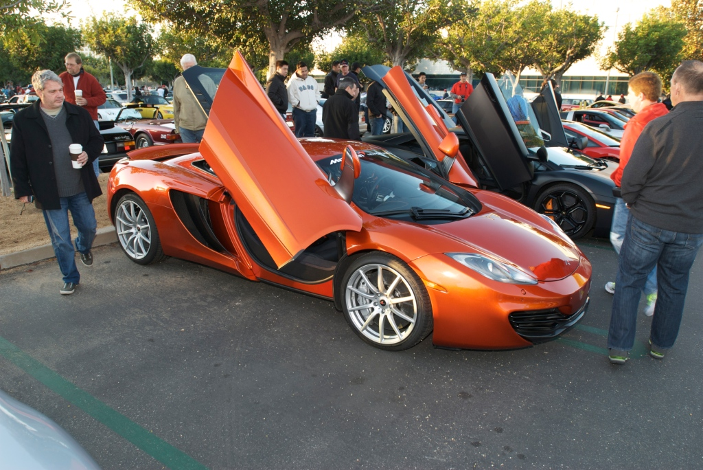 2011 McLaren MP 4-12C_Cars&Coffee_11/26/11