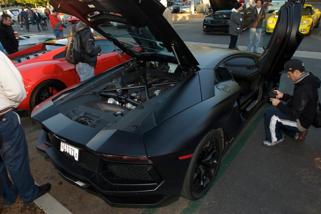 Lamborghini Aventador_Cars&Coffee_11/26/11