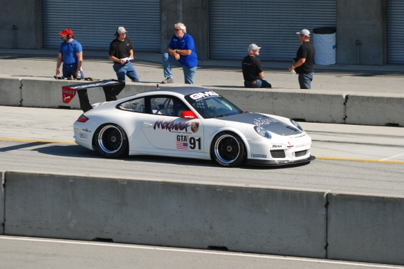 GT3 Cup car_Group six_Rennsport Reunion 4_10/16/11