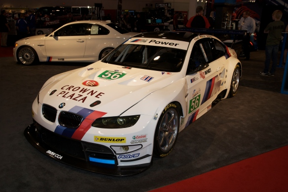 BMW M3_H&R display_The SEMA SHow_11/3/11