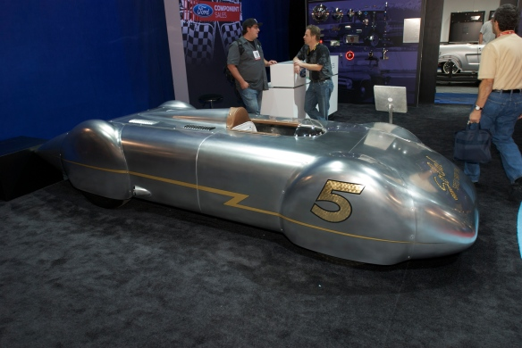 So Cal speed shops _Ford streamliner_Ford display_The SEMA SHow 2011_11/4/11
