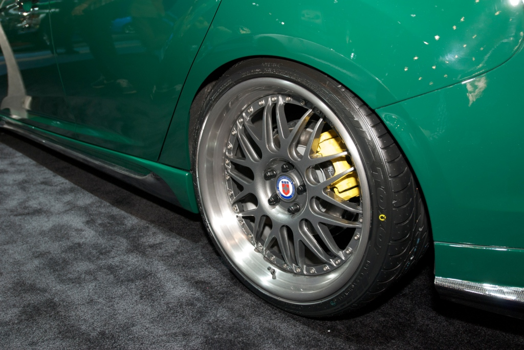HRE wheels_2012 custom Ford Focus_The SEMA Show 2011_11/4/11