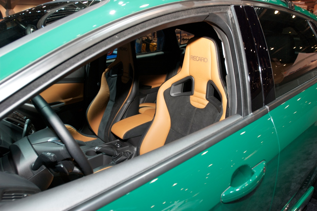 2012 custom Ford Focus_Recaro interior_The SEMA Show 2011_11/4/11