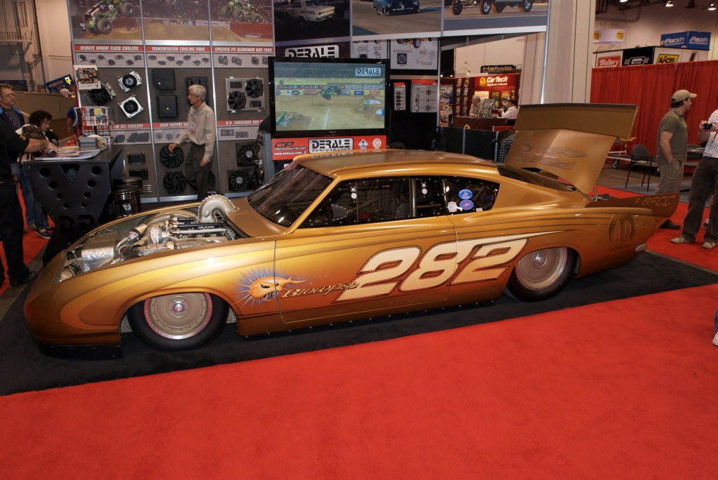 Rad Rad Rides by Troy_Dodge salt flats racer_The SEMA Show 2011_11/4/11