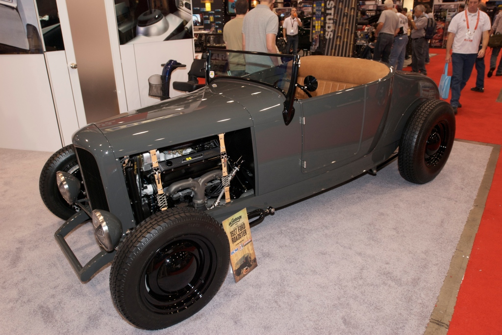 Gray, 1927 Ford roadster_The SEMA Show 2011_11/4/11