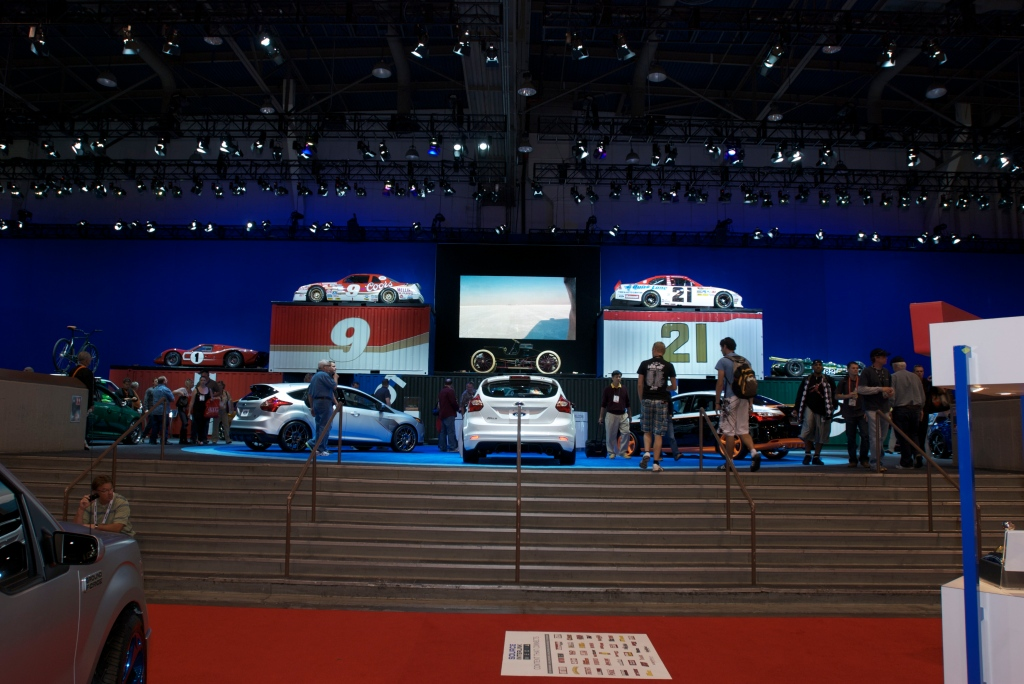 Overview of Ford display_The SEMA Show 2011_11/4/11
