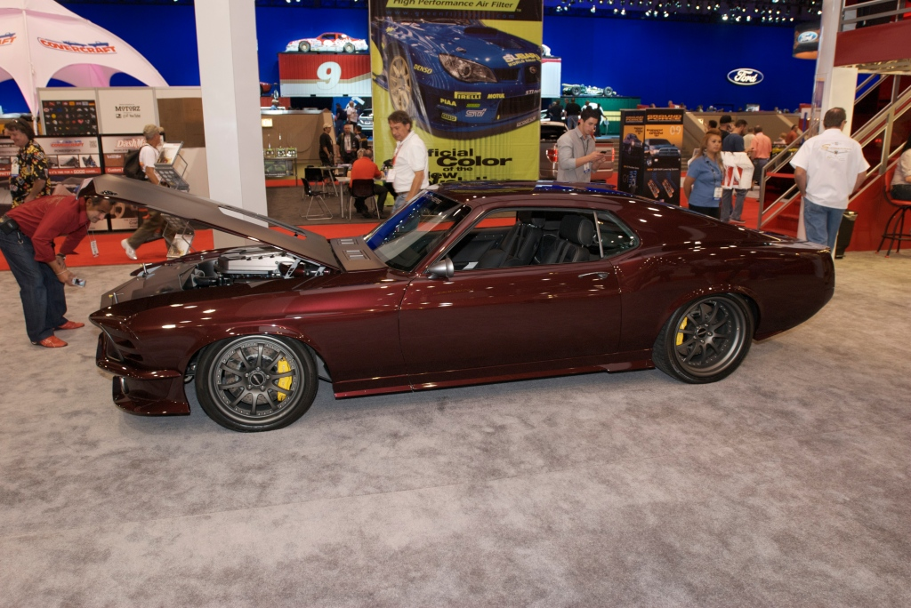 RINGBROTHERS Mustang fastback_Mothers display_The SEMA Show 2011_11/4/11