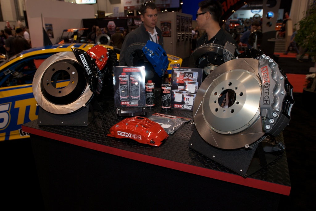 StopTech brake display_The SEMA Show 2011_11/4/11