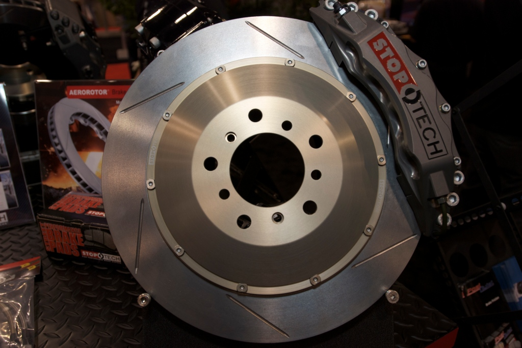 StopTech brake kit_caliper, rotor & hat_The SEMA Show 2011_11/4/11