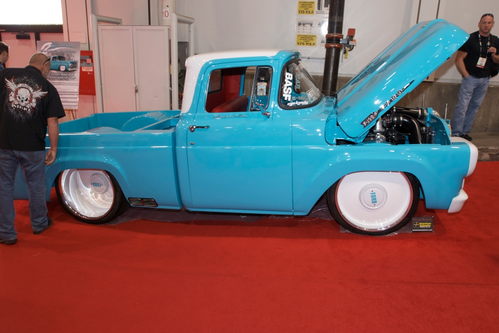 2 Brothers Custom Trucks, F-100_The SEMA Show 2011_11/4/11