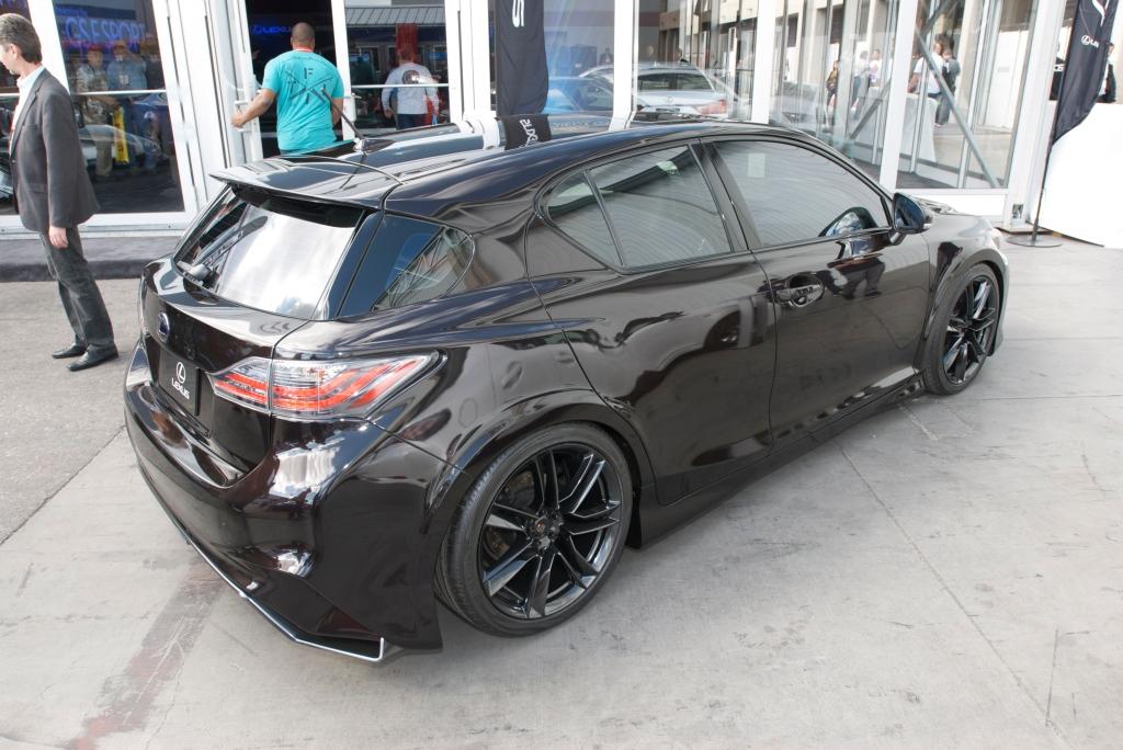 5-Axis widebody study_ Lexus 200H_The SEMA Show 2011_11/4/11