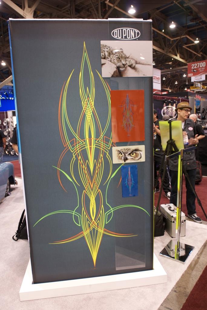 Dupont paint display_The SEMA Show 2011_11/4/11