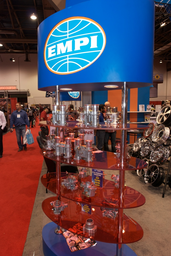 EMPI display_Weber carbs_The SEMA Show 2011_11/4/11