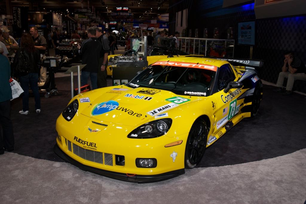 Corvette C6R racecar_Chevy display_The SEMA Show 2011_11//4/11