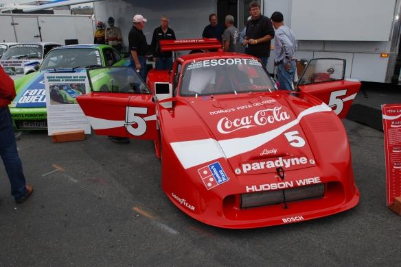 Bob Akin Coca Cola Porsche 935 _Rennsport Reunion 4_10/16/11
