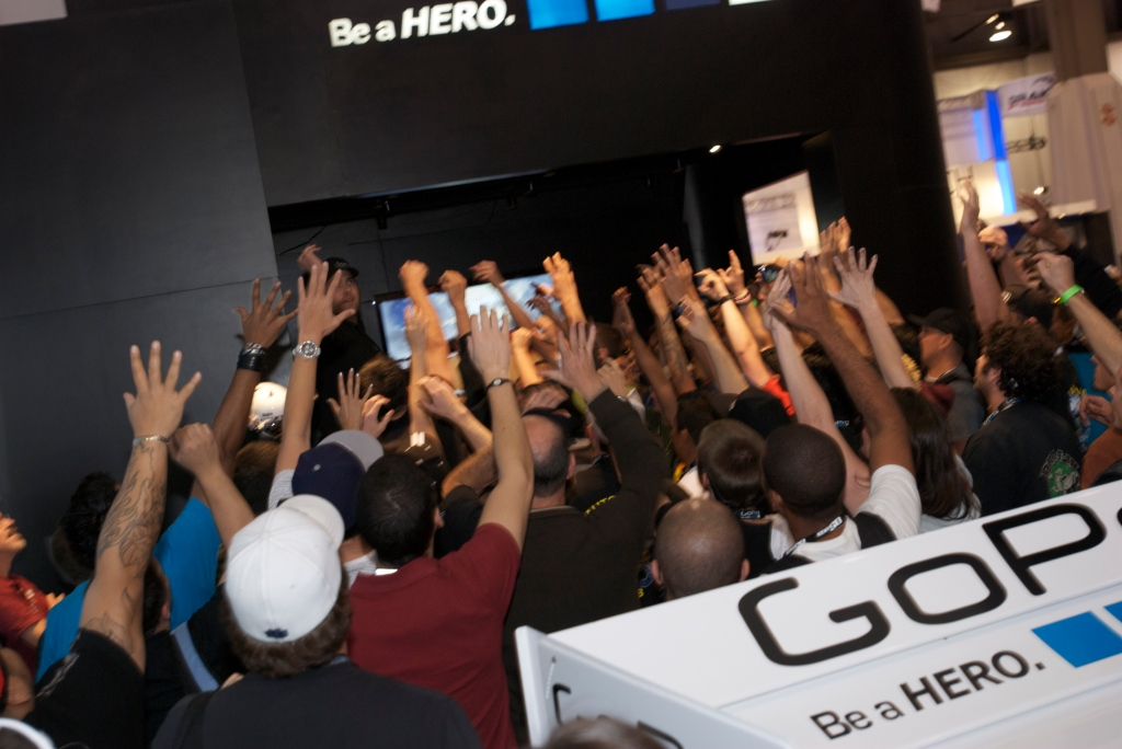 Go Pro exhibit_The SEMA Show 2011_11/4/11