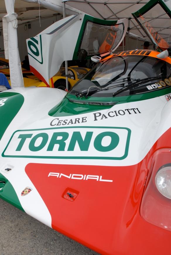 Porsche 962_paddock_Rennsport Reunion 4_10/16/11