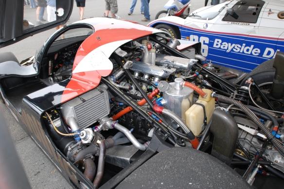 Porsche 962's_paddock area_Rennsport Reunion 4_10/16/11