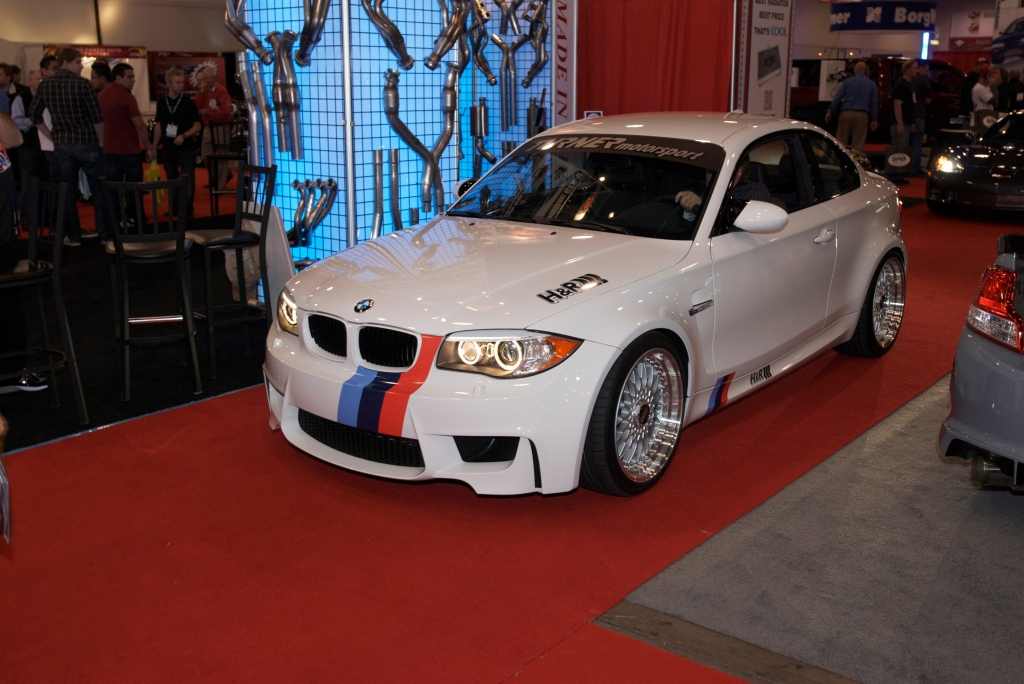 H&R BMW 1M_The SEMA Show 2011_11/4/11