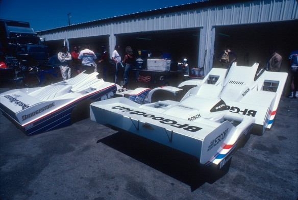#67 BFGoodrich Porsche 962 _spare body parts_Riverside Raceway_April 25, 1985