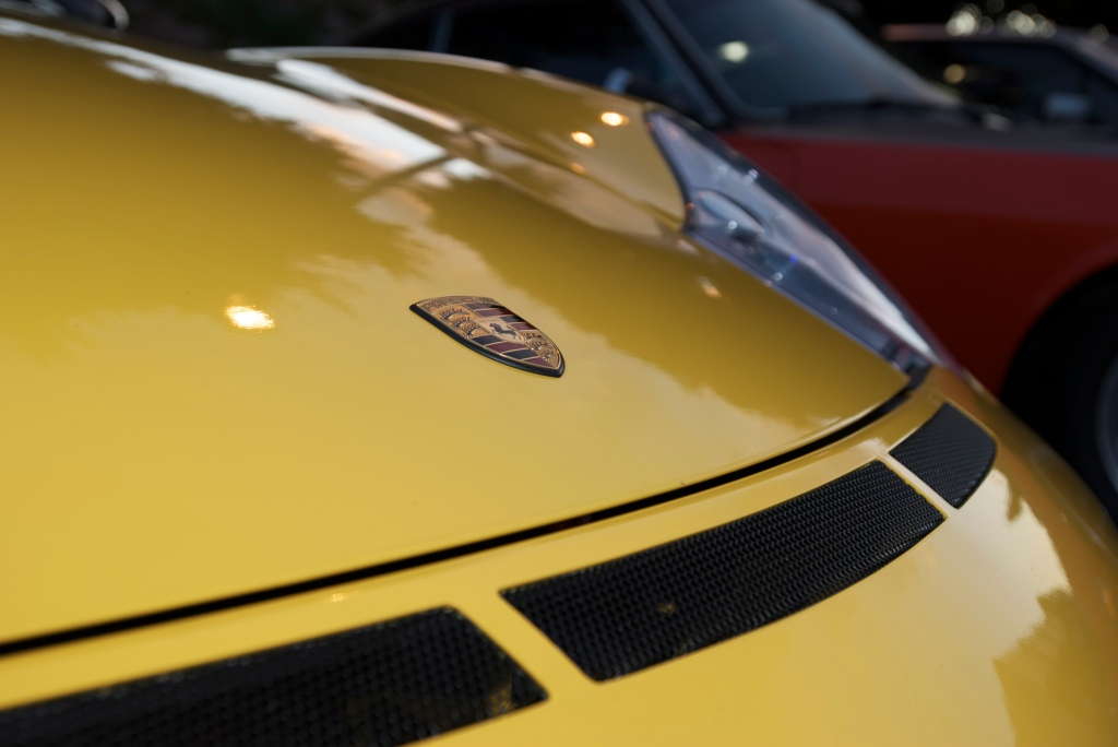 Speed Yellow Porsche 996 GT3_Cars&Coffee/Irvine_12/17/11