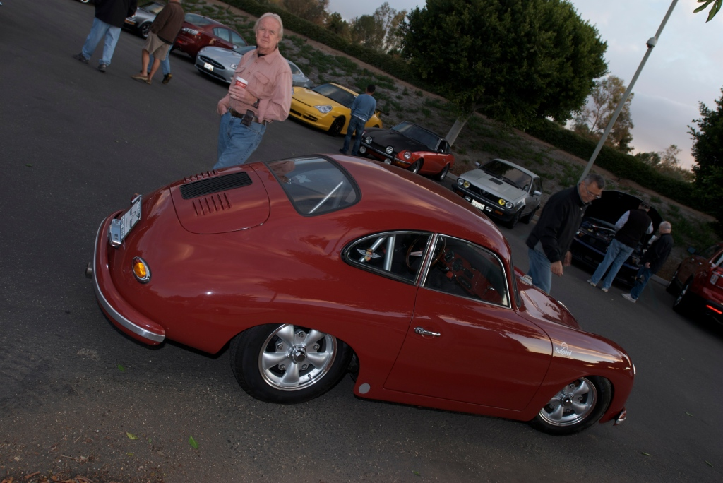 Red Truspeed 356A outlaw coupe_Cars&Coffee/Irvine_12/17/11