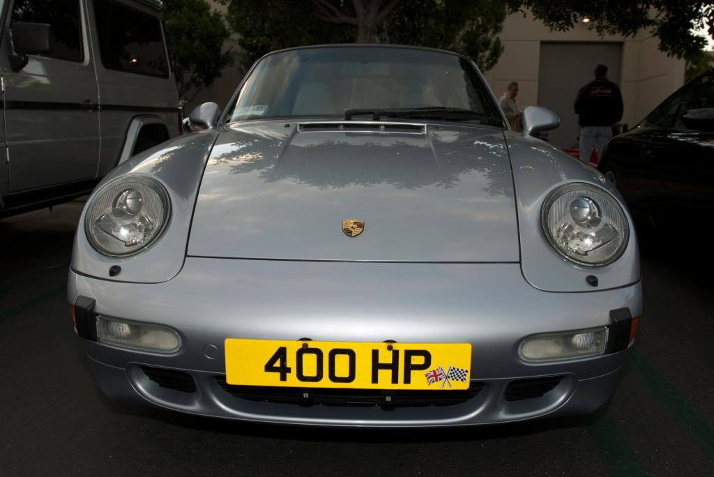 Silver Porsche 993 turbo_Cars&Coffee/Irvine_12/17/11