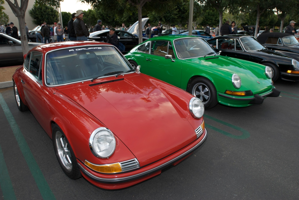 """Christmas Porsche 911S's"" _Cars&Coffee/Irvine_12/17/11"