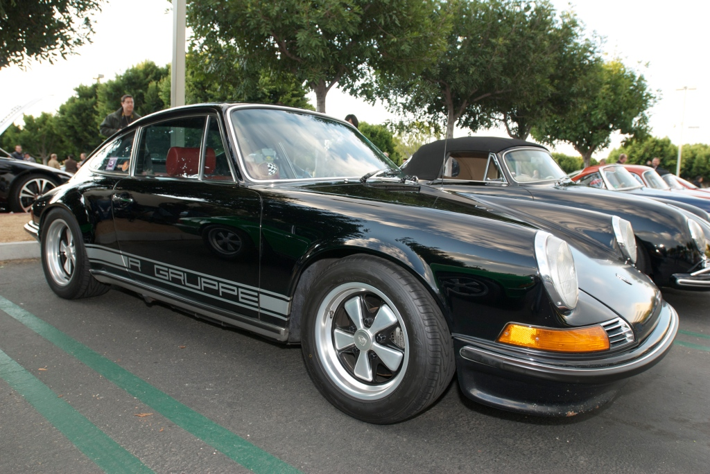 Black R GRuppe Porsche 911S_Cars&Coffee/Irvine_12/17/11