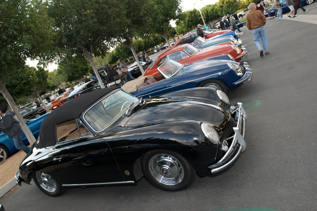 Porsche 356 cabriolets and coupes_Cars&Coffee/Irvine_12/17/11